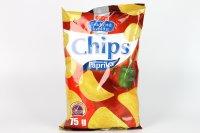 Chips s príchuťou paprika COOP 75 g