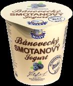 Bánovecký smotanový jogurt čučoriedka 145 g