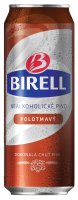 Birell nealkoholické polotmavé plechovka 0,5 l