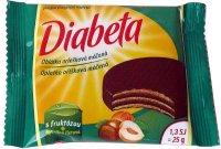 Diabeta oblátka oriešková máčaná 25 g