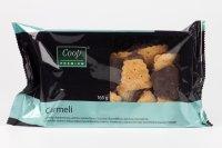 Carmeli sušienky s karamelovou príchuťou polomáčané COOP 165 g