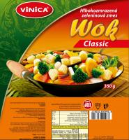 Wok Classic hlbokomrazená zeleninová zmes 350 g