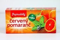 Čaj červený pomaranč & mäta 20 x 2 g