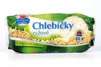 Chlebíčky ryžové s jogurtovou polevou COOP 60 g