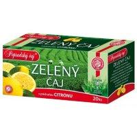 Zelený čaj citrón 20 x 1,5 g