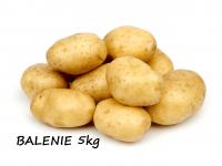Zemiaky konzumné žlté neskoré prané 5 kg