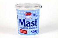 Masť bravčová, škvarená  COOP 500 g