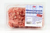 Mäsový prípravok z bravčového mäsa COOP 500 g