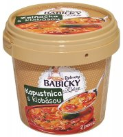 Kapustová polievka s klobásou mrazená 420 g