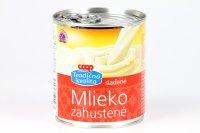 Mlieko zahustené sladené COOP 397 g