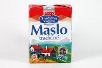 Maslo tradičné COOP 250 g