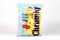 Chrumky kukuričné nesolené COOP 100 g