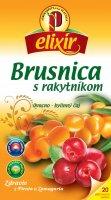 Čaj ovocno-bylinný brusnica s rakytníkom 30 g