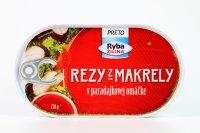 Rezy z makrely v paradajkovej omáčke 170 g