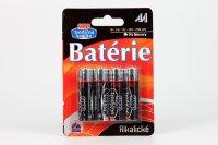 Batérie alkalické AA/LR6 COOP 4 ks