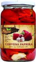 Červená paprika pečená 680 g