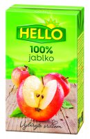 Hello 100 % jablko 250 ml