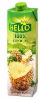 Hello ananás 100 % 1 l