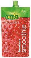 Hello Smoothie jahoda 100 % 200 ml