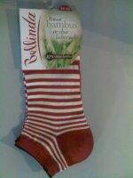 Ponožky dámske členkové Bambus in - shoe - mix - 42