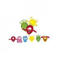 Balóniky Animals 6 ks