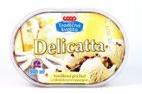 Delicatta vanilková príchuť COOP 900 ml