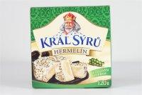 Král syrú Hermelín so zeleným korením 120 g