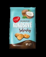 Kokosové sušienky polomáčané bezlepkové 120 g