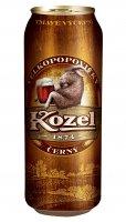 Velkopopovický Kozel tmavý 10 % plechovka 0,5 l