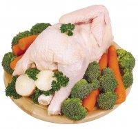 Mrazená sliepka bez drobkov 1200 g