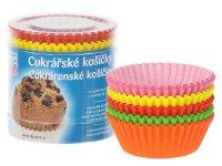 Košíčky cukrárenské farebné 50 x 27 mm 100 ks