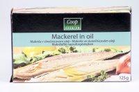 Makrela v oleji  COOP 125 g (pevný podiel: 90 g)