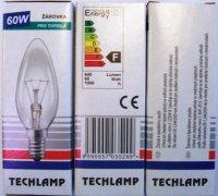 Žiarovka Techlamp 60W E14 sviečková