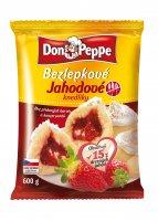 Bezlepkové jahodové knedleDon Peppe 600 g
