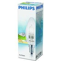 Žiarovka Philips Halogen B 28W E14 sviečková