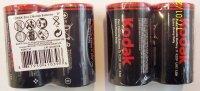 Batéria Kodak Heavy Duty D/R20 2 ks