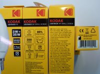 Žiarivka Kodak LED Candle 3W E14 Warm Glow