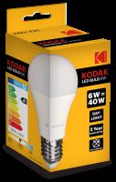Žiarivka Kodak LED Bulb Globe 6W E27 Daylight