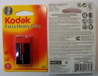 Batéria Kodak Heavy Duty 9V K9VHZ