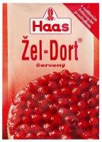 Želé Haas žel-dort červený 11 g