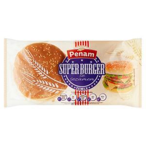 Hamburger stredný sypaný sezamom 4 x 75 g 300 g