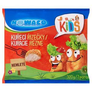 Mrazené obaľované kuracie rezne Kids 320G