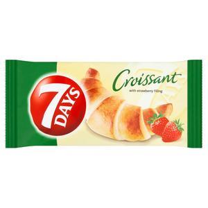 7 Days croissant s jahodovou náplňou 60 g