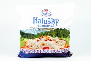 Halušky zemiakové hlbokozmrazené COOP 1000 g