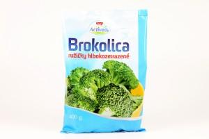 Brokolica ružičky hlbokozmrazené COOP 400 g