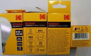 Žiarivka Kodak LED Golf 6W E14 Daylight
